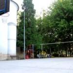 Campo di Basket e Pallavolo