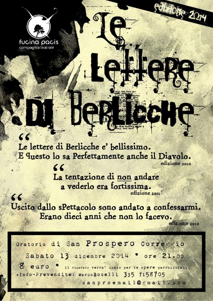 Le lettere di Berlicche – Rappresentazione Teatrale