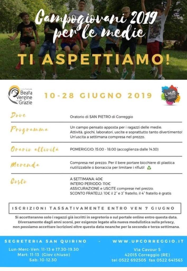 Grest 2019 a San Pietro