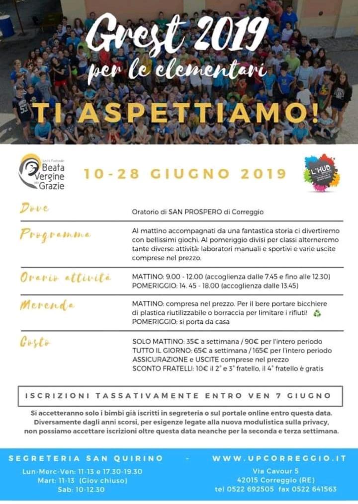 Grest 2019 a San Prospero