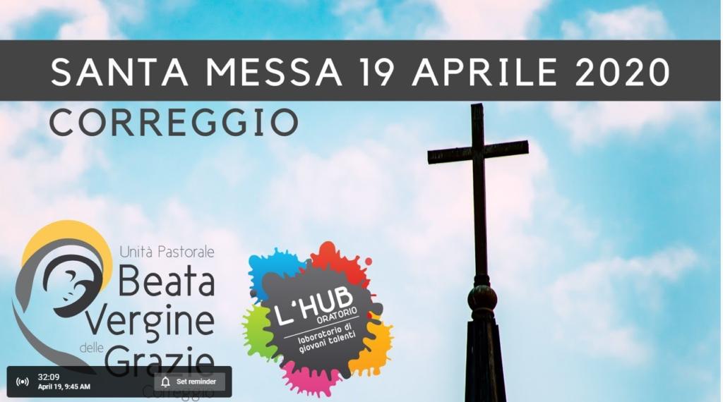 Promemoria dal 19 al 26 aprile